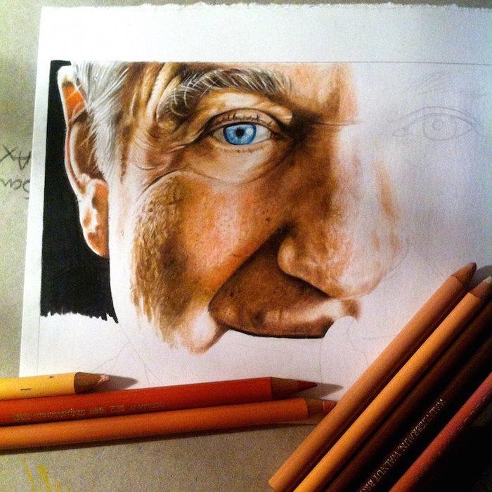Ταλαντούχος 18χρονος ζωγραφίζει σταρ του Χόλιγουντ με απίστευτη ακρίβεια! - εικόνα 2