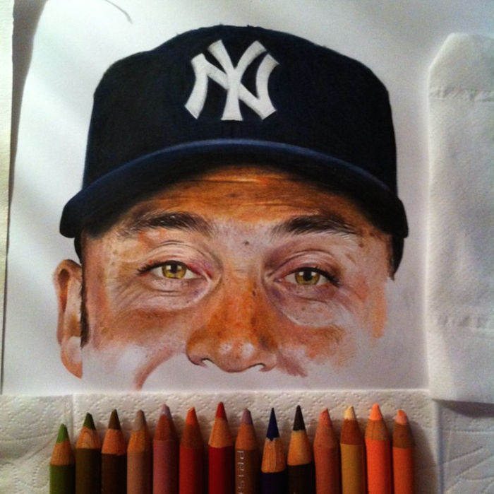 Ταλαντούχος 18χρονος ζωγραφίζει σταρ του Χόλιγουντ με απίστευτη ακρίβεια! - εικόνα 12