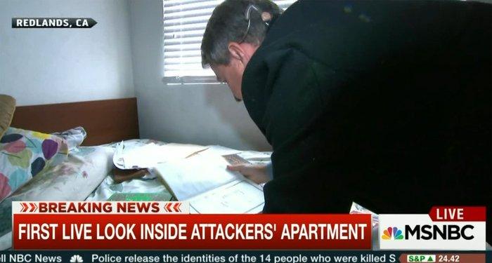 Βορά στα τηλεοπτικά συνεργεία το σπίτι των δραστών - εικόνα 3