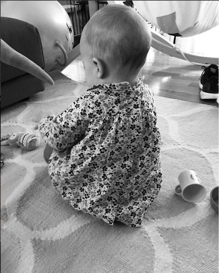Βίκυ Καγιά: Η πρώτη φωτογραφία της 6 μηνών κόρης της! Είναι αξιολάτρευτη...