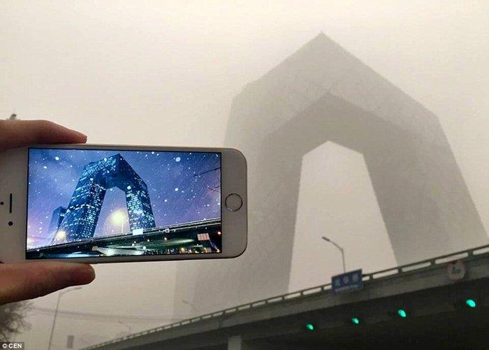 Τα αξιοθέατα του Πεκίνου πριν και μετά την αιθαλομίχλη