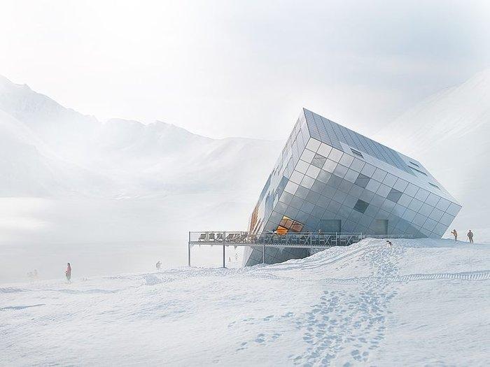 Ενας κύβος ριγμένος στο χιόνι κρύβει ένα ασύλληπτο καταφύγιο! - εικόνα 2