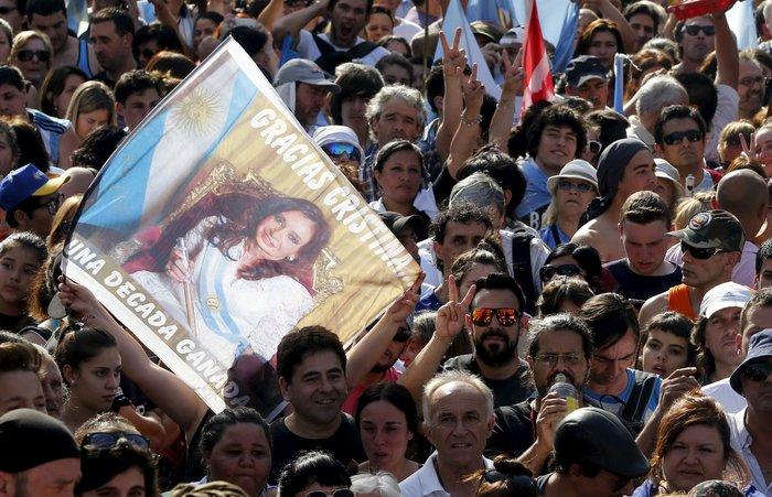 Το συγκινητικό αντίο της Κριστίνα Φερνάντες
