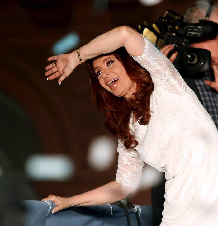 Το συγκινητικό αντίο της Κριστίνα Φερνάντες - εικόνα 2