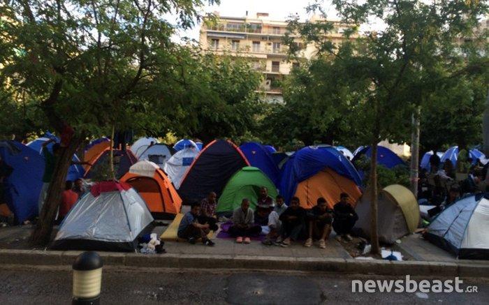 Από την Ειδομένη στην Αθήνα χωρίς χώρους και... πρόγραμμα - εικόνα 4