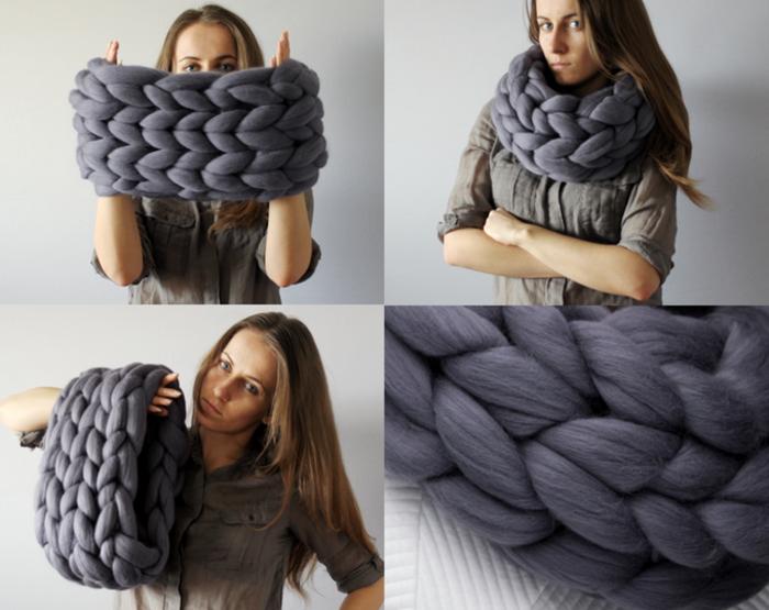 H γυναίκα που έγινε ζάπλουτη φτιάχνοντας αυτές τις υπερμεγέθεις κουβέρτες - εικόνα 3