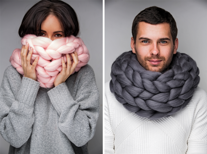 H γυναίκα που έγινε ζάπλουτη φτιάχνοντας αυτές τις υπερμεγέθεις κουβέρτες - εικόνα 4