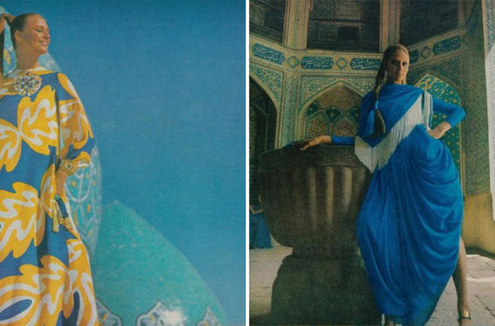 Πώς ντύνονταν οι γυναίκες στο Ιράν το 1970