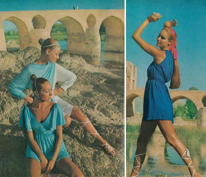 Πώς ντύνονταν οι γυναίκες στο Ιράν το 1970 - εικόνα 2