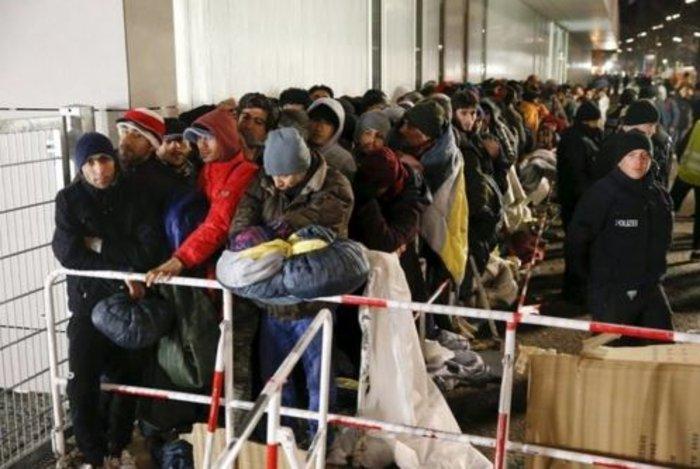 Αθλιες συνθήκες διαβίωσης των προσφύγων στο Βερολίνο - εικόνα 4