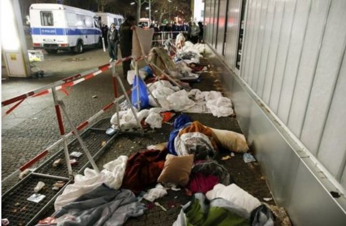 Αθλιες συνθήκες διαβίωσης των προσφύγων στο Βερολίνο - εικόνα 5