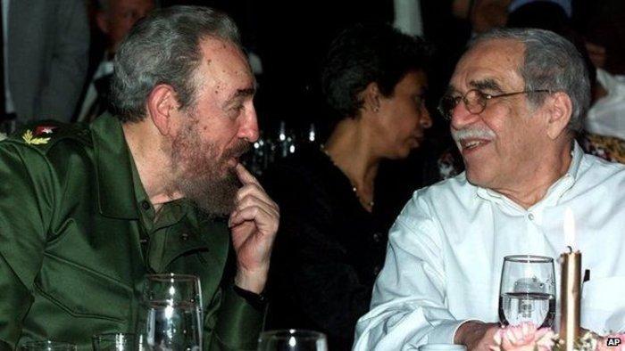 Με τον Φιντέλ Κάστρο