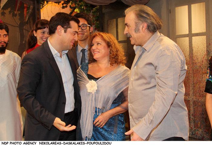Ο Τσίπρας με το υπουργικό συμβούλιο... πήγε θέατρο - εικόνα 3