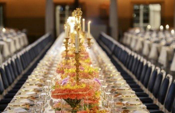 Η απόλυτη χλιδή στα βραβεία Νόμπελ. Το βασιλικό δείπνο! [Εικόνες]