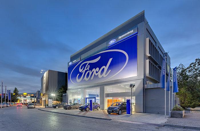 Το FordStore της Σφακιανάκης ΑΕΒΕ στην Λεωφ. Βουλιαγμένης 574 στην Αργυρούπολη