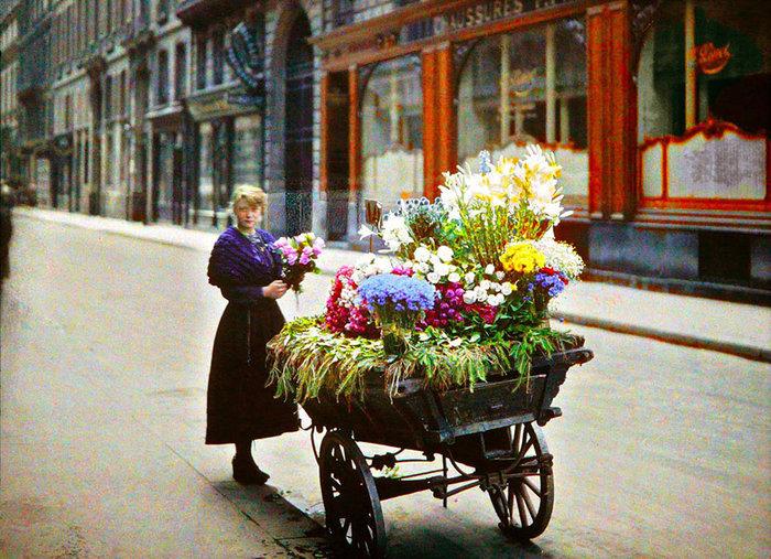 Σπάνιες έγχρωμες φωτογραφίες από το Παρίσι του 1914