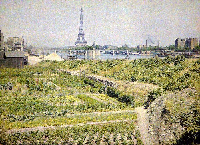 Σπάνιες έγχρωμες φωτογραφίες από το Παρίσι του 1914 - εικόνα 2