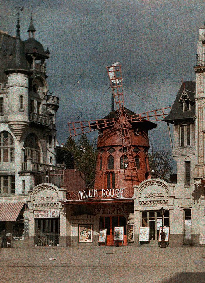 Σπάνιες έγχρωμες φωτογραφίες από το Παρίσι του 1914 - εικόνα 5