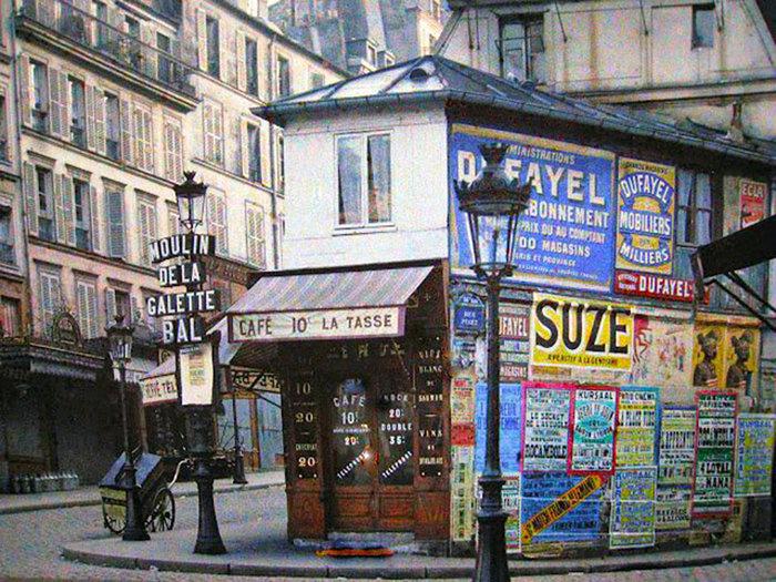 Σπάνιες έγχρωμες φωτογραφίες από το Παρίσι του 1914 - εικόνα 6