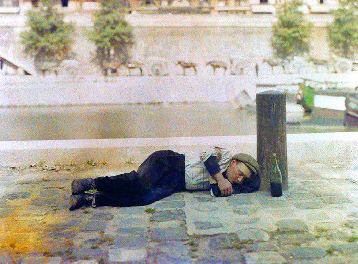 Σπάνιες έγχρωμες φωτογραφίες από το Παρίσι του 1914 - εικόνα 8