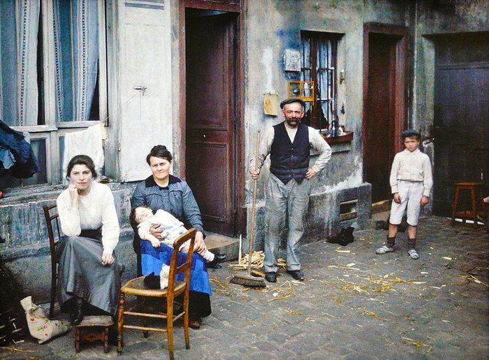 Σπάνιες έγχρωμες φωτογραφίες από το Παρίσι του 1914 - εικόνα 9