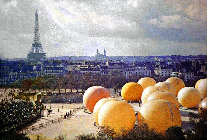 Σπάνιες έγχρωμες φωτογραφίες από το Παρίσι του 1914 - εικόνα 10