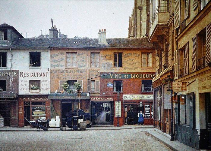 Σπάνιες έγχρωμες φωτογραφίες από το Παρίσι του 1914 - εικόνα 14