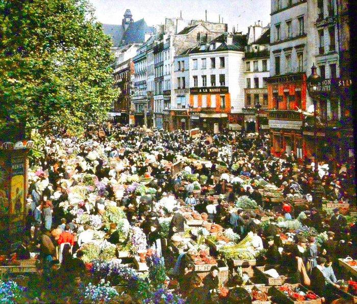 Σπάνιες έγχρωμες φωτογραφίες από το Παρίσι του 1914 - εικόνα 15