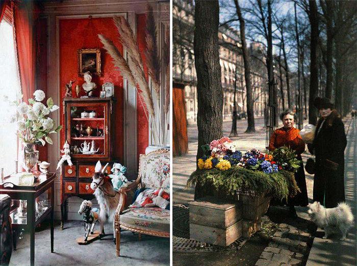 Σπάνιες έγχρωμες φωτογραφίες από το Παρίσι του 1914 - εικόνα 16
