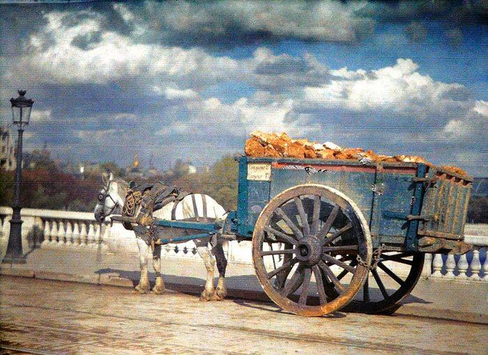 Σπάνιες έγχρωμες φωτογραφίες από το Παρίσι του 1914 - εικόνα 17