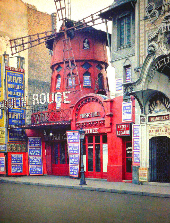 Σπάνιες έγχρωμες φωτογραφίες από το Παρίσι του 1914 - εικόνα 20