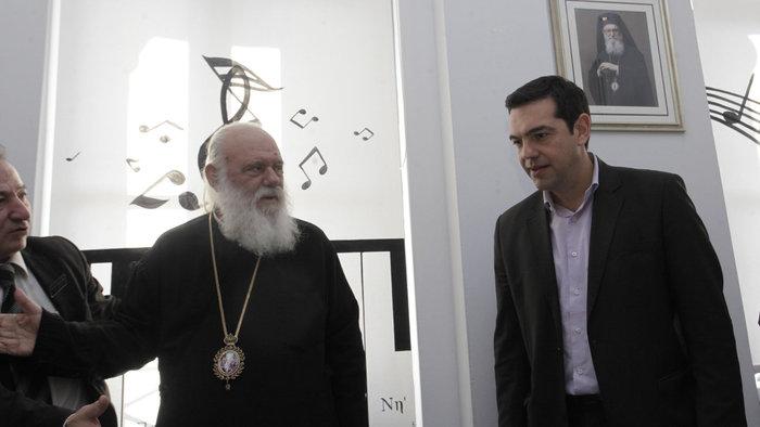 Ιερώνυμος: Με τον Αλέξη Τσίπρα έχουμε πνευματική επαφή - εικόνα 3