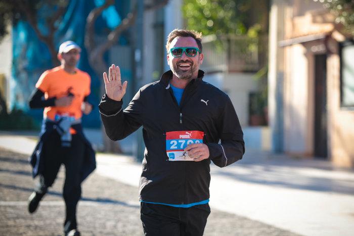 Ο Γιώργος Καπουτζίδης έτρεξε στο TheTOC Merrython