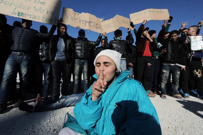 Διαμαρτυρία των Μαροκινών μεταναστών στο Ταεκβοντο - εικόνα 5