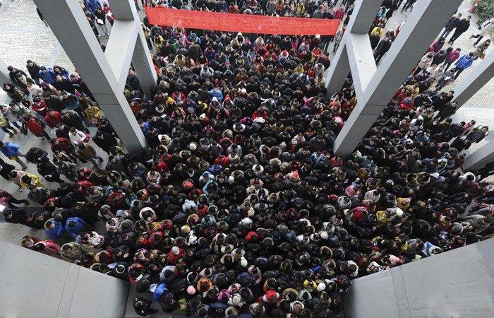 """20 """"στριμωγμένες"""" εικόνες απο την πυκνοκατοικημένη Κίνα"""