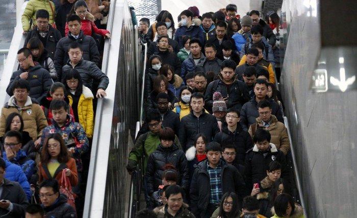 """20 """"στριμωγμένες"""" εικόνες απο την πυκνοκατοικημένη Κίνα - εικόνα 6"""