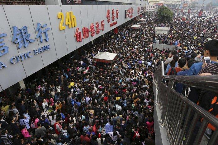 """20 """"στριμωγμένες"""" εικόνες απο την πυκνοκατοικημένη Κίνα - εικόνα 7"""