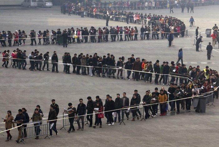 """20 """"στριμωγμένες"""" εικόνες απο την πυκνοκατοικημένη Κίνα - εικόνα 9"""