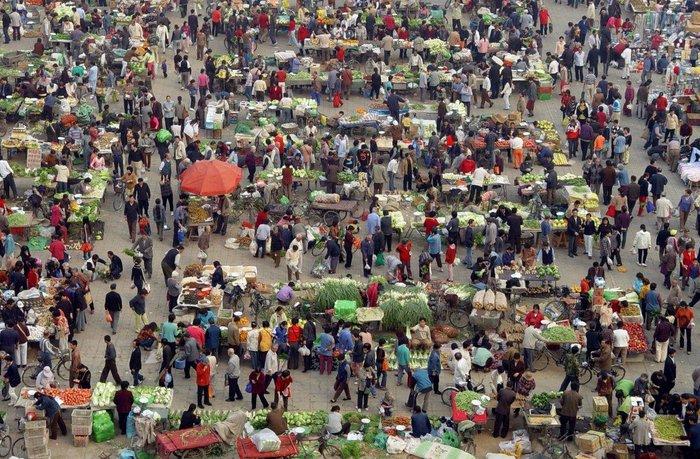"""20 """"στριμωγμένες"""" εικόνες απο την πυκνοκατοικημένη Κίνα - εικόνα 12"""
