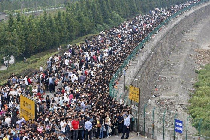 """20 """"στριμωγμένες"""" εικόνες απο την πυκνοκατοικημένη Κίνα - εικόνα 18"""