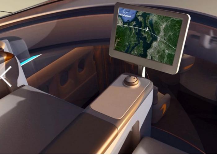 Έτσι θα είναι η πρώτη θέση στα αεροσκάφη του μέλλοντος-φωτό και βίντεο - εικόνα 3