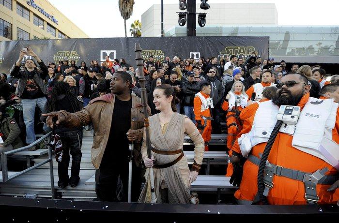 Star Wars: Πρεμιέρα της επικής σειράς στο Λος Αντζελες