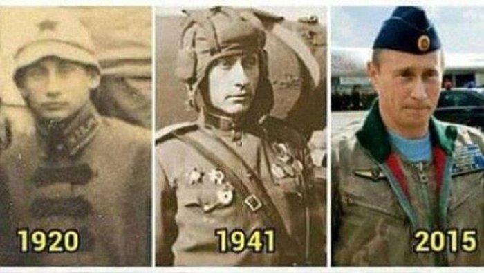 Ο Πούτιν είναι αθάνατος και με... αποδείξεις