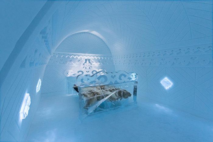 Απίστευτο: Ξενοδοχείο σμιλεμένο σε 4.000 τόνους πάγου! - εικόνα 3