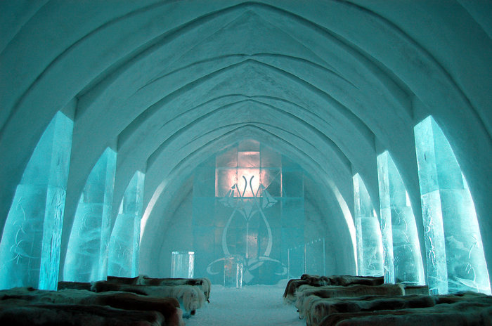 Απίστευτο: Ξενοδοχείο σμιλεμένο σε 4.000 τόνους πάγου! - εικόνα 6