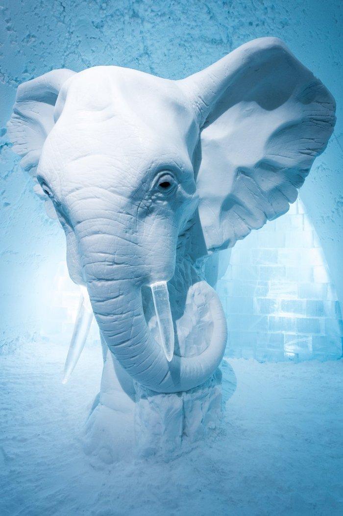 Απίστευτο: Ξενοδοχείο σμιλεμένο σε 4.000 τόνους πάγου! - εικόνα 8