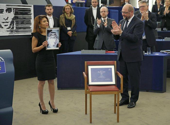 Σε σαουδάραβα φυλακισμένο μπλόγκερ το βραβείο Ζαχάρωφ της Ευρωβουλής - εικόνα 2