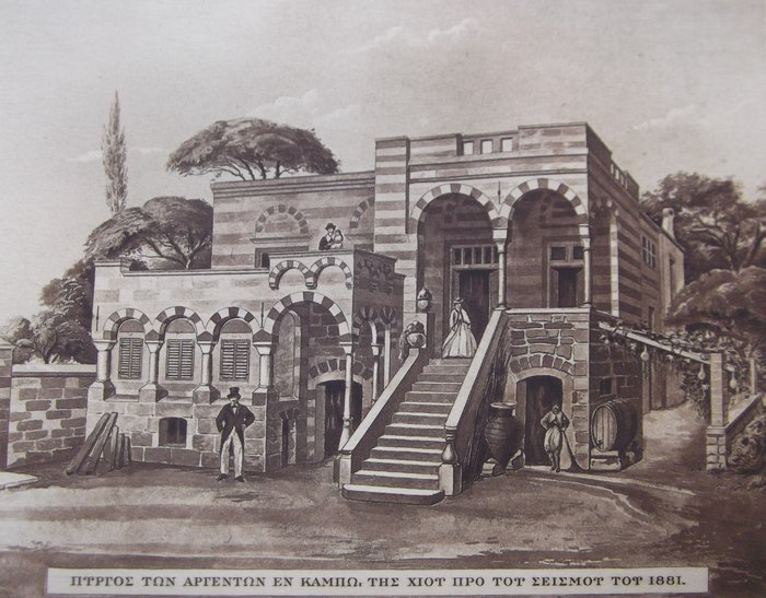 Απεικόνιση του Πύργου από το 1881