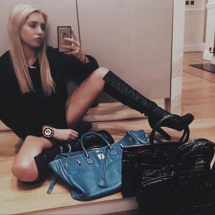 Πάμπλουτη κληρονόμος είναι τo πιο κακομαθημένο κορίτσι στο instagram