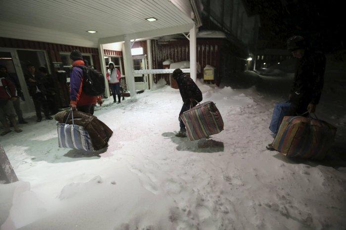 Σε «στρατόπεδο» στον Αρκτικό Κύκλο πήγε τους πρόσφυγες η Σουηδία